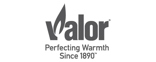 Valor Gas Fireplaces logo